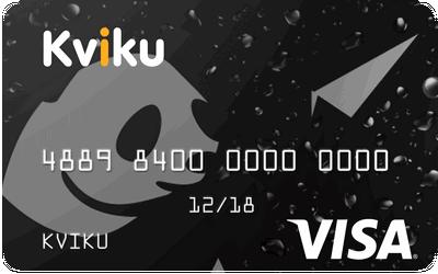 Kviku карта - кредитка онлайн