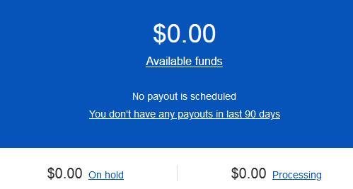 дашборд по принятым платежам на пионер через ebay