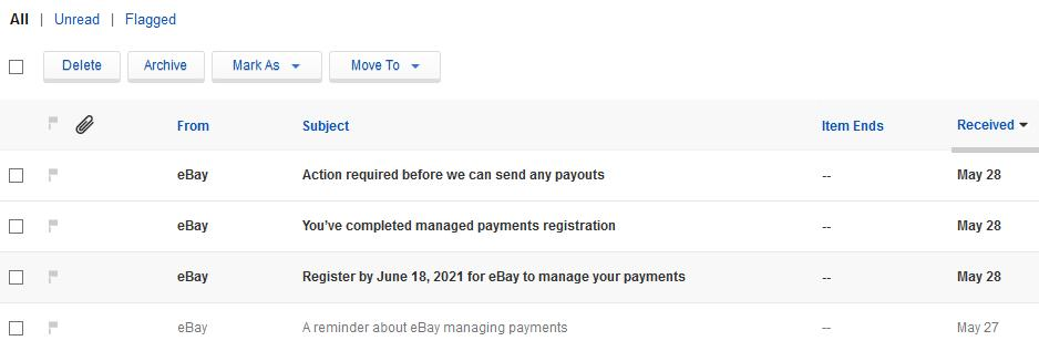 ebay payoneer action required