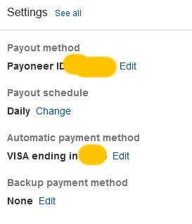 Настройка платежей и выплат на ebay
